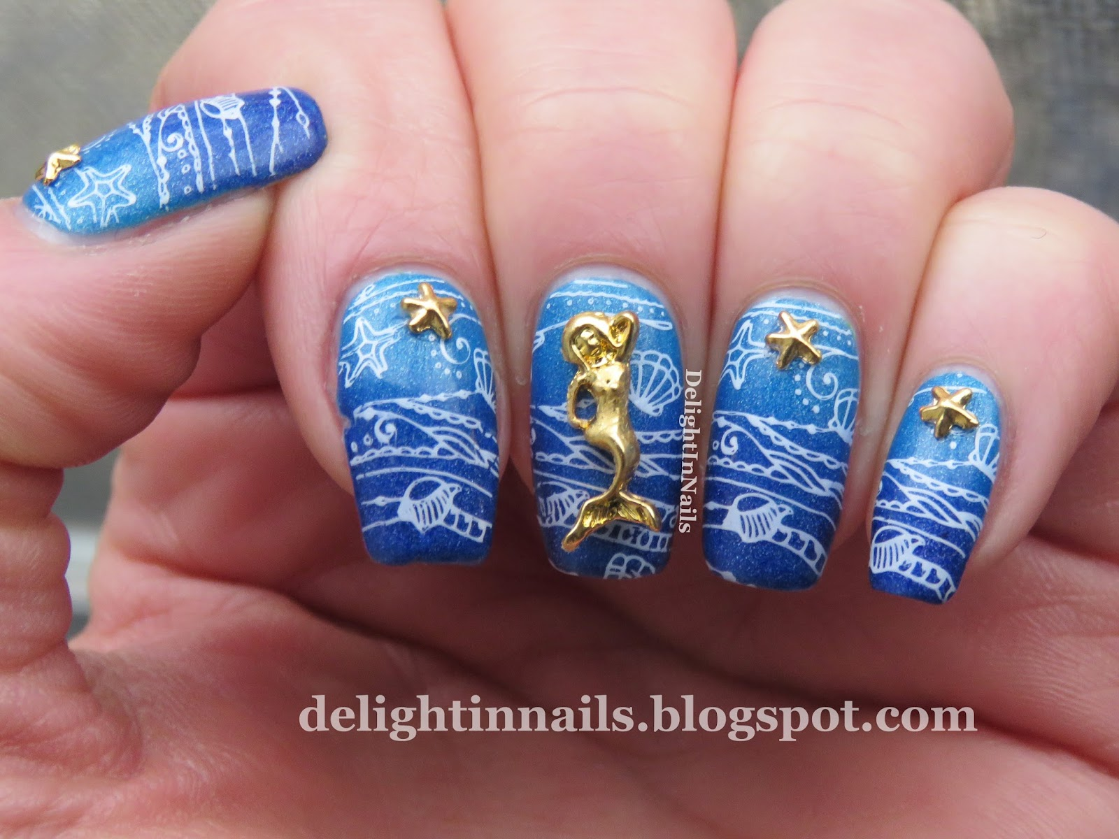 Delight In Nails: LadyQueen Nail Charms Review