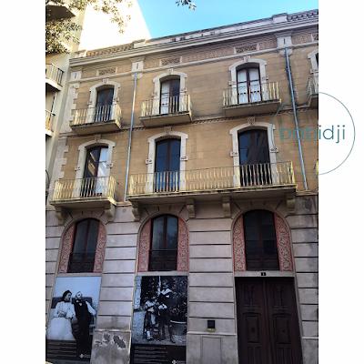 devanture de la maison où est né Dali à Figueres