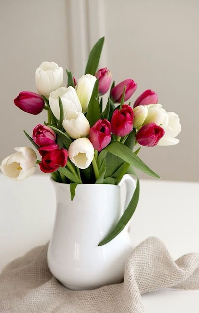 Floral Arrangements With Tulips 9