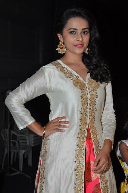 Sri Divya at Kaashmora Telugu Movie Music Launch