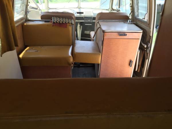 Original 1967 volkswagen westfalia so42 rv camper for Interior westfalia