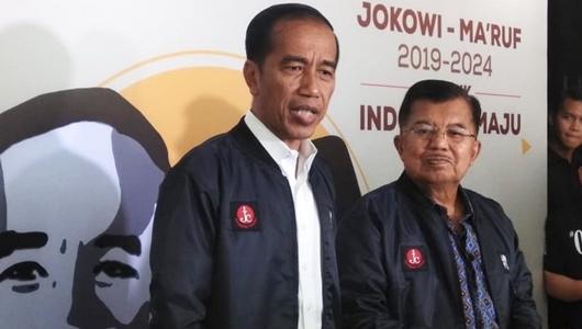 Jokowi: Pak JK Sejak Awal Mendukung Kami