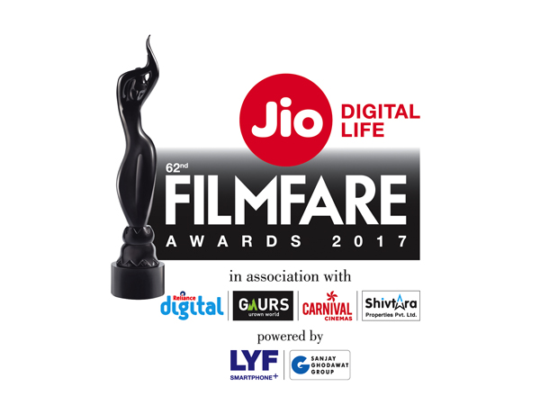 Complete List Of Winners of 62nd Jio Filmfare Awards 2017 were held on 14 Jan Evening at NSCI Dome, Mumbai
