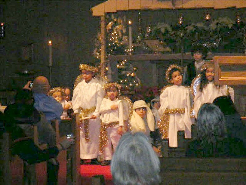 Nativity Angels no sew choir robe costumes