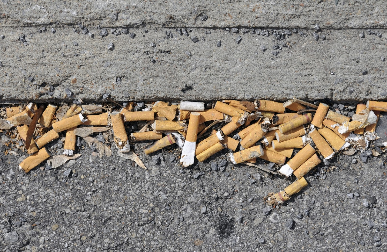 Illinois bans cigarette butts, issuing a $1,500 fine to anyone that throws one on the ground