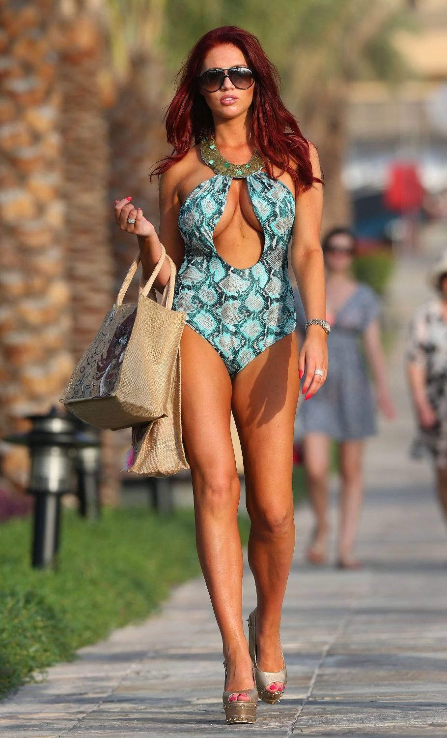 Amy Childs Bikini Photos