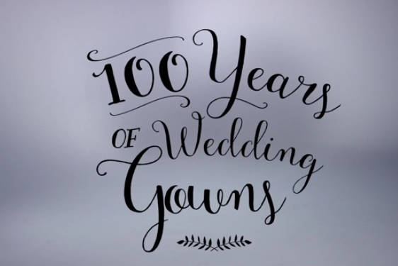 100 Years of Wedding Gowns
