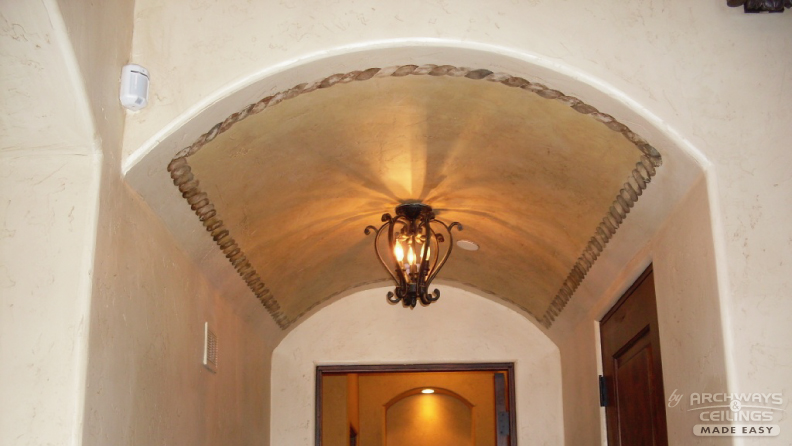 curved ceiling paint ideas - The Curve Appeal
