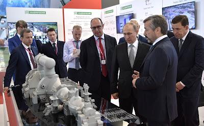 Vladimir Putin. INNOPROM 2017.