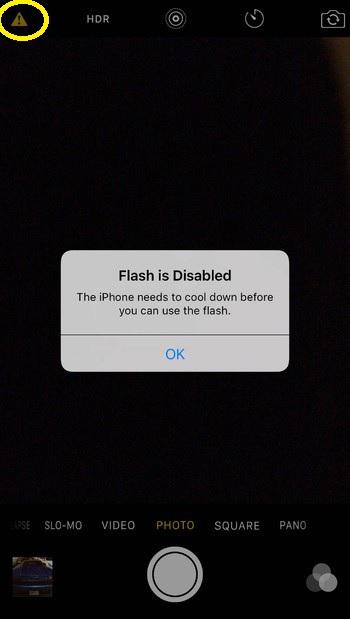 Những dấu hiệu khi camera iphone 7 bị lỗi tam giác chấm than màu vàng Camera-iphone-7-loi-tam-giac-cham-than-mau-vang