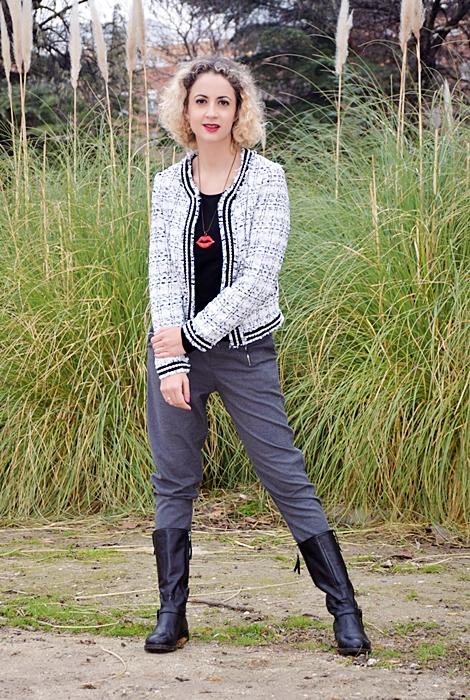 Outfit-Americana-tweed-adorno-perla-6