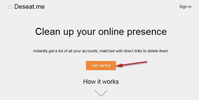 تخلص من جميع حساباتك القديمة فى الانترنت عبر هذه الخدمة المميزة Deseat.me