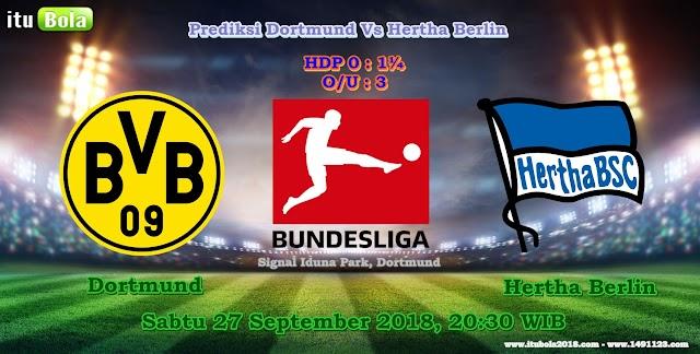Prediksi Dortmund Vs Hertha Berlin - ituBola