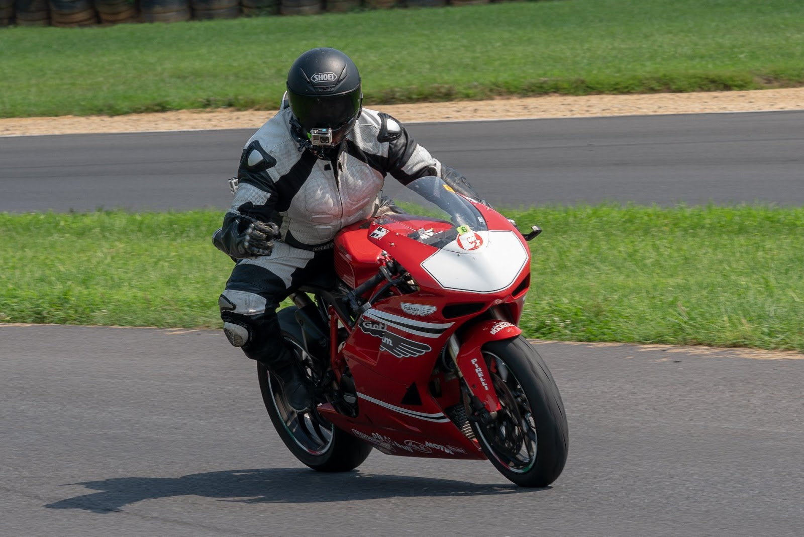 Tigh Loughhead Track Bike at Summit Point Motorsports Park in West Virgina