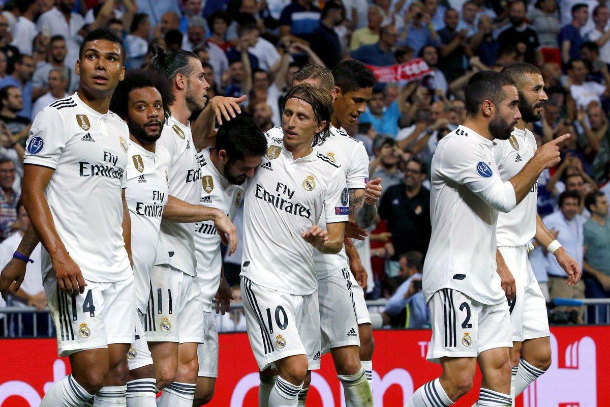 ريال مدريد يبدأ حملة الدفاع عن لقبه بثلاثية في شباك روما