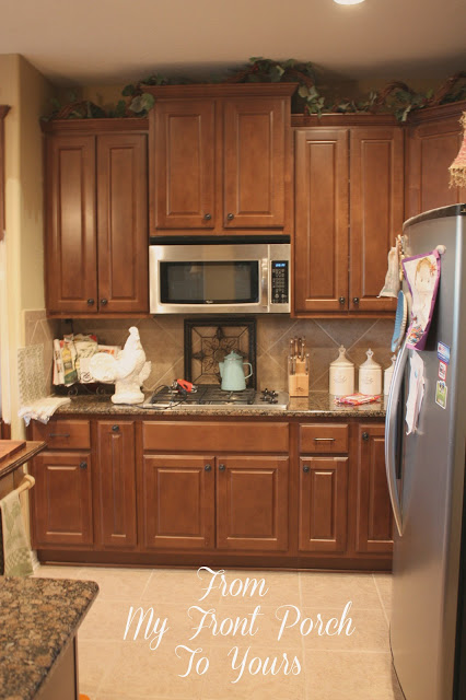 Painting Your Kitchen Cabinets Is No Small Undertaking: From My Front Porch To Yours: Kitchen Cabinet Painting