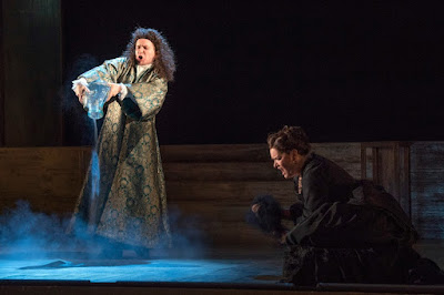 English Touring Opera - Handel Giulio Cesare - Benjamin Williamson, Catherine Carby - (Photo Richard Hubert Smith)