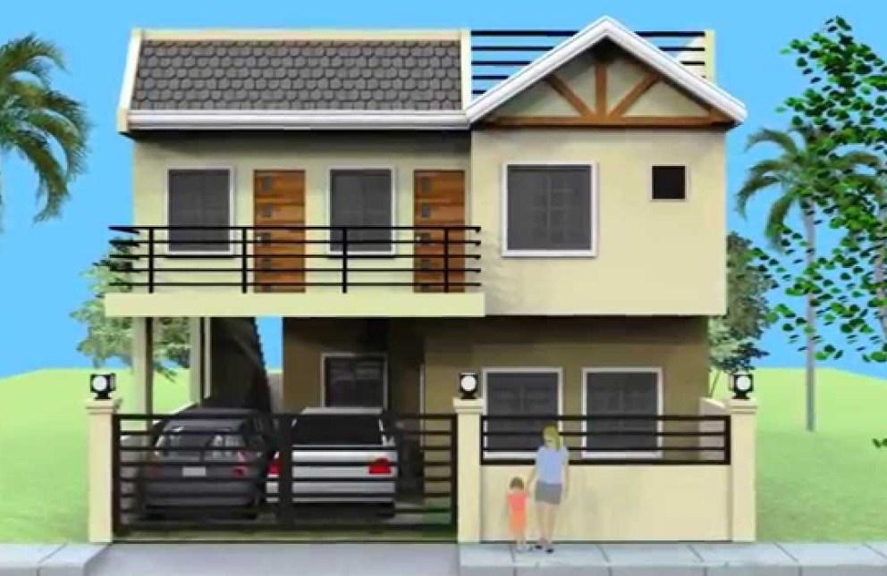 rumah minimalis sederhana 2 lantai - kumpulan model rumah 2 lantai terbaru