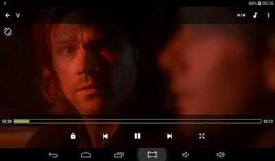 Filme em reprodução no MX Player