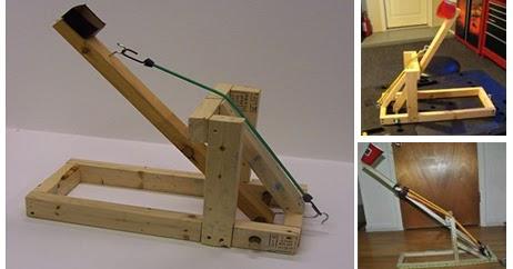 Cómo Hacer Una Catapulta Casera De Madera Diy Construccion Y Manualidades Hazlo Tu Mismo