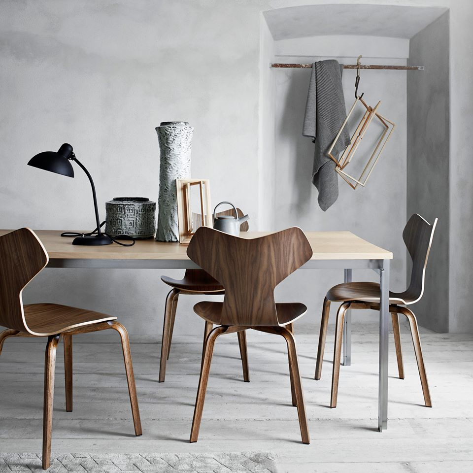design love the new grand prix chair by arne jacobsen nordic days by flor linckens. Black Bedroom Furniture Sets. Home Design Ideas