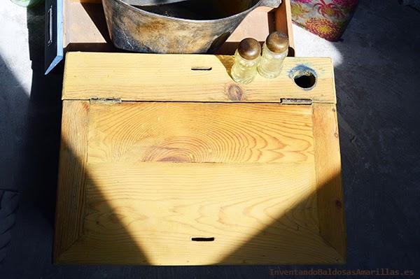 Limpiar muebles madera recta casera
