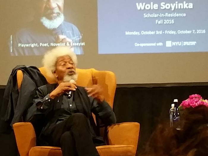 wole soyinka lecture nyu school of law