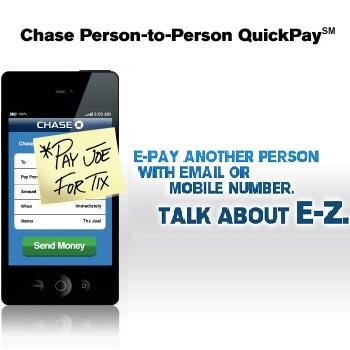 Chase quick pay to non chase : pitaniesug ga