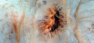orange point,abstract landscapes of deserts of Africa ,Abstract Naturalism,abstract photography deserts of Africa from the air,abstract surrealism,mirage in desert,fantasy forms of stone in the desert