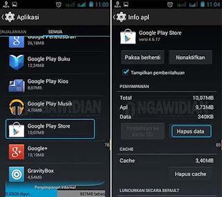Cara Keluar Dari Akun Google Play Store