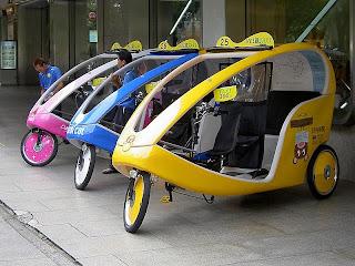 Siapa bilang becak hanya ada di Indonesia Unik, Inilah Becak Ala Jepang, Amerika, dan Jerman