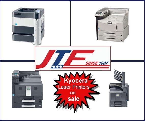 Kyocera Laser Printers on sale