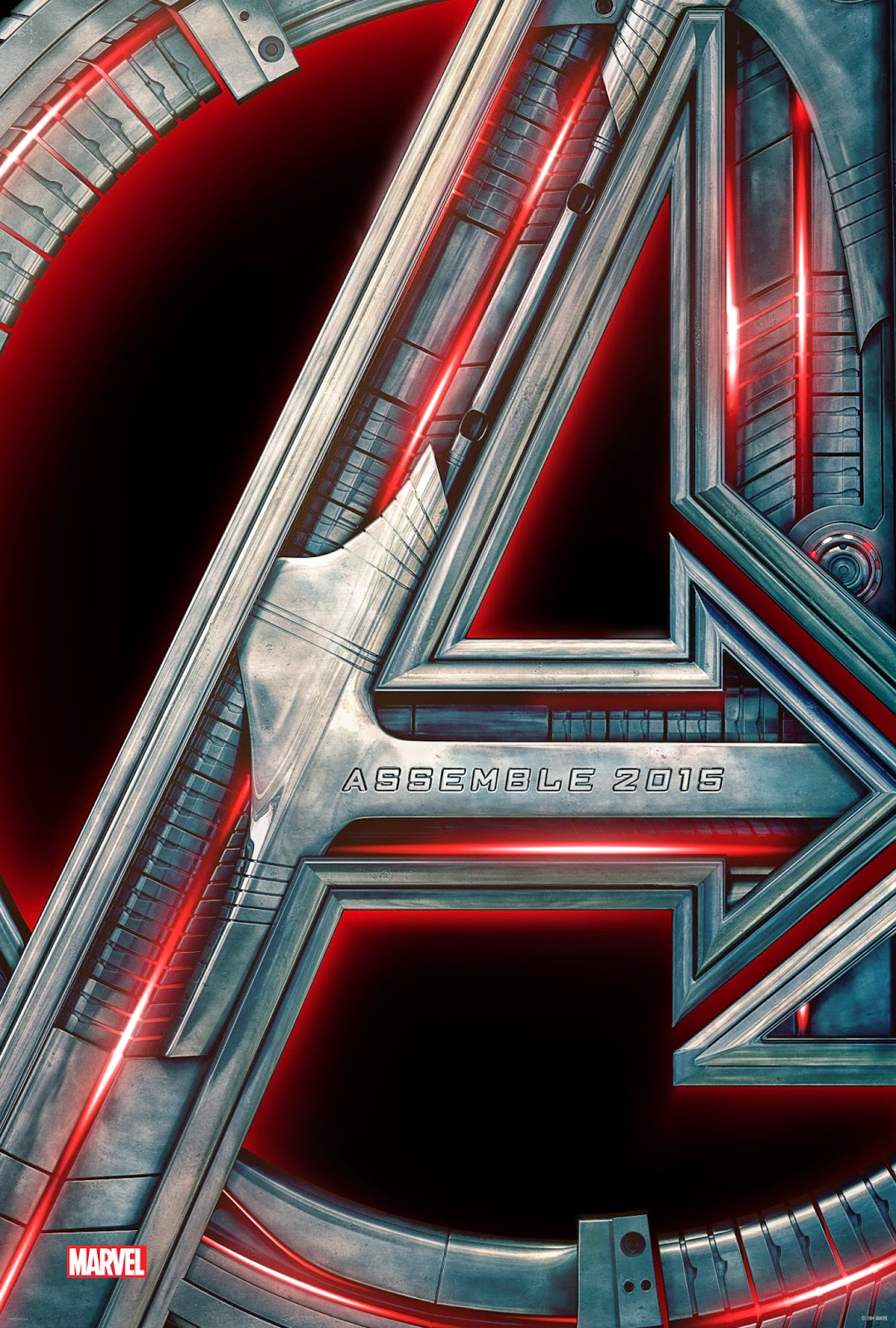 The Avengers:  Age of Ultron Teaser Poster