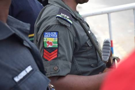 Frustrated Nigerian Police Officer Jumps Into A River & Drowns