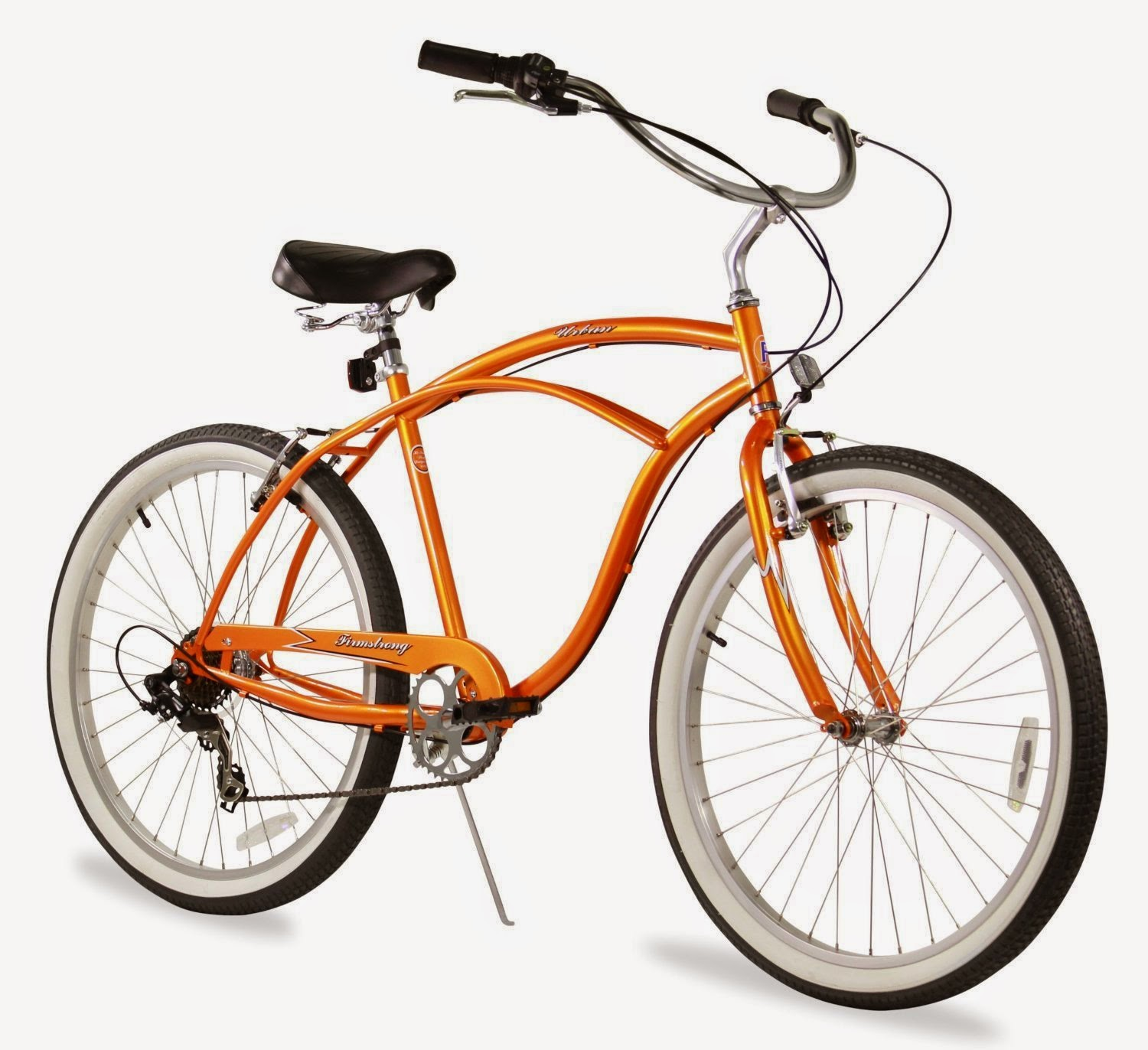 "Firmstrong Urban Man 7-Speed - Men's 26"" Beach Cruiser Bike, picture, image, review features & specifications, compare with single-speed and 3-speed versions"