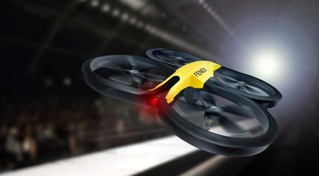 Fendi drones