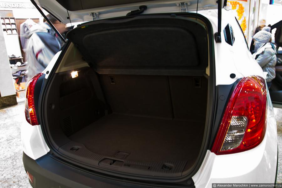 Багажник Opel Mokka