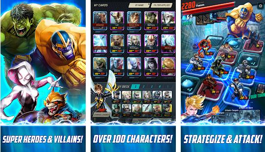Screenshots of Marvel Battle Lines 02
