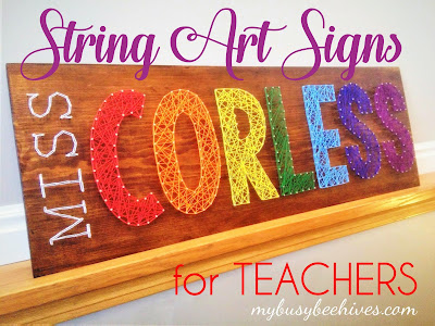 string art teacher appreciation
