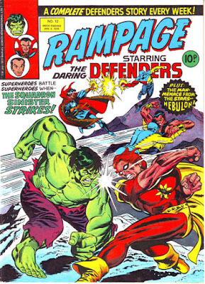 Rampage #12, Defenders vs the Squadron Sinister
