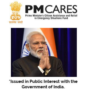 Donate to PM Cares Fund to fight Coronavirus pandemic