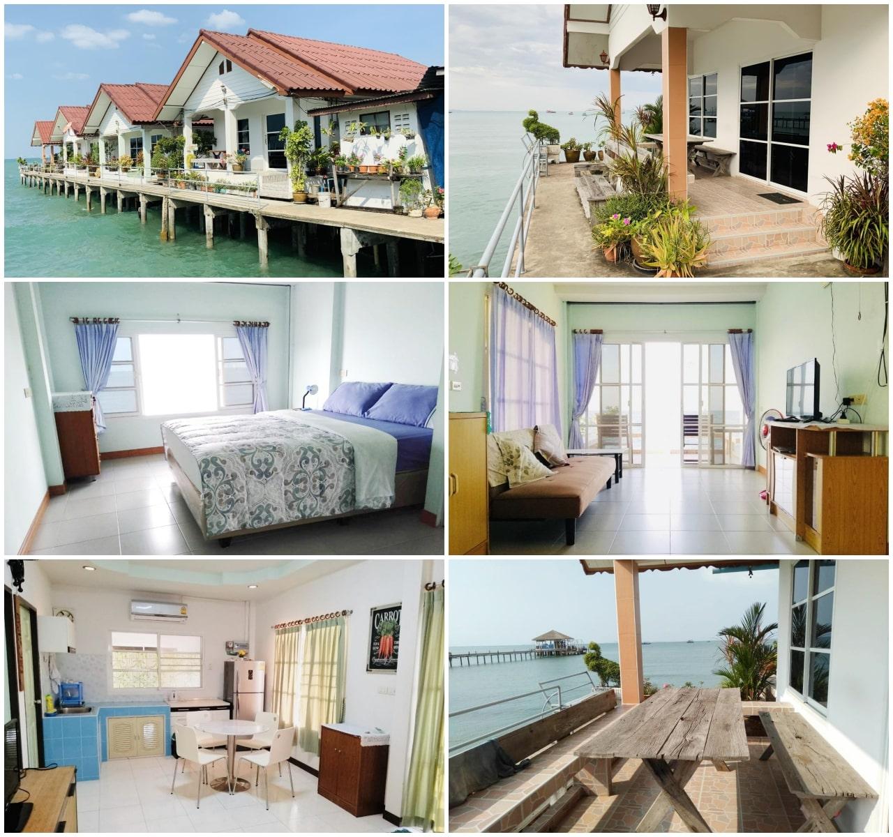 9 ที่พักบางเสร่ติดทะเล บ้านเป็นหลัง ปิ้งย่างได้ ราคาถูกมาก!