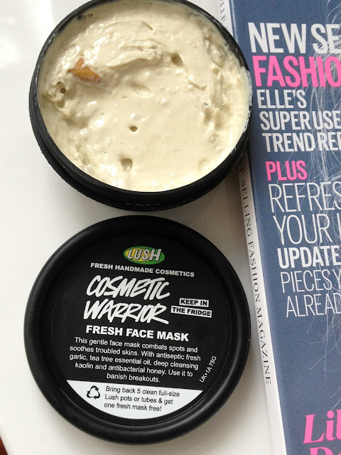 Lush Cosmetic Warrior Face Mask