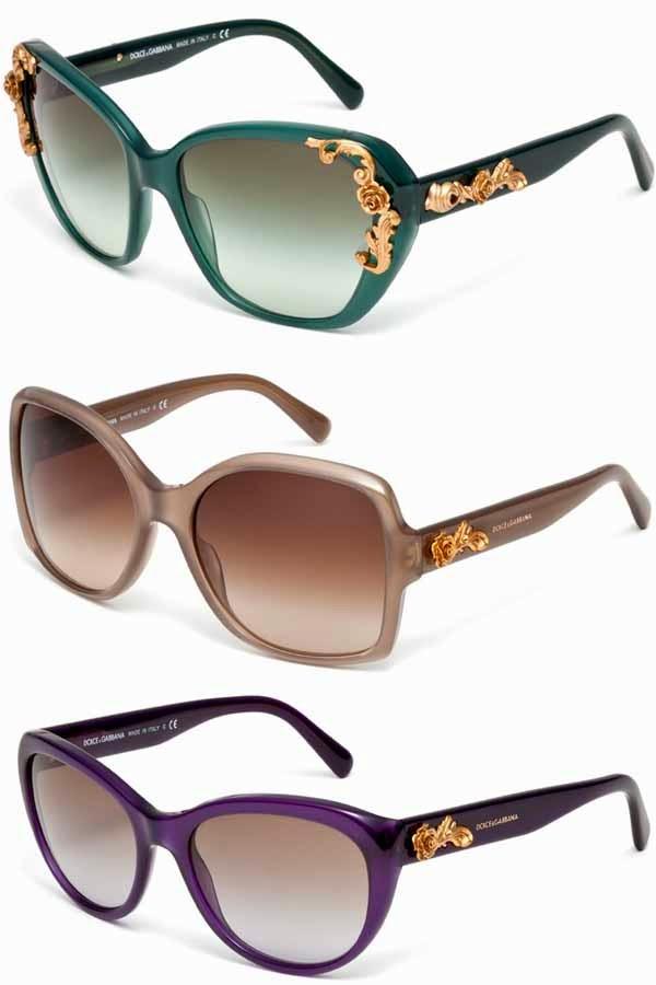 ... ter uns Óculos de Sol Estilo Barroco  espreitem e inspirem-se com a  coleção de óculos Dolce   Gabbana, composta por óculos de sol e de visão  inspirados ... 09b09341c2