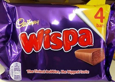 Cadbury wispa chocolate