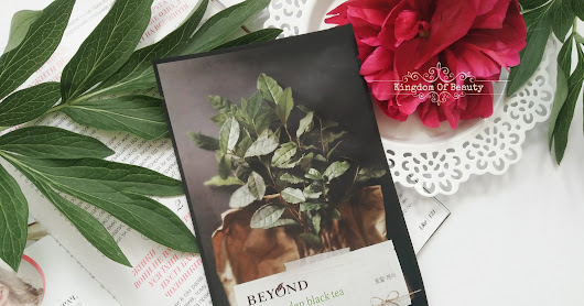 Beyond - herb garden black tea mask
