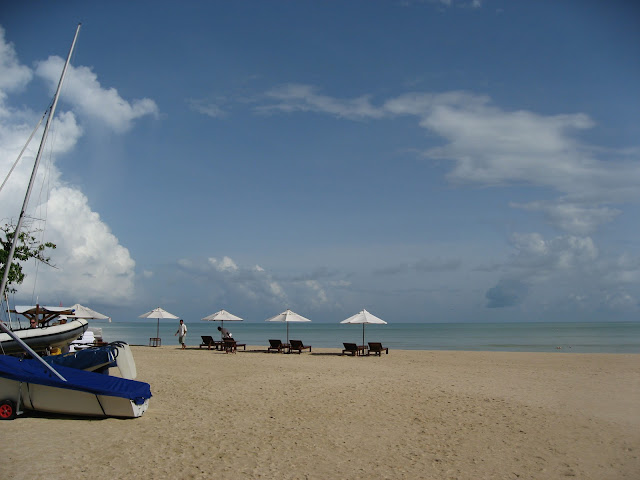 The Andaman Sea in romantic Thailand for our honeymoon