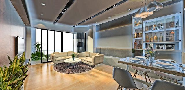 thiết kế căn hộ Tiện nghi