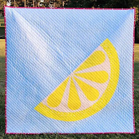 Lemon slice quilt