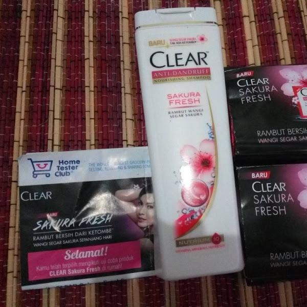 CLEAR SAKURA FRESH: Shampo Penghilang Ketombe dengan Ekstrak Bunga Sakura yang Segar
